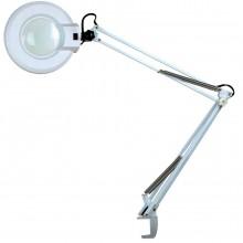 Лампа-лупа косметологическая светодиодная на струбцине 120LM-1-1