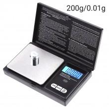 Весы электронные портативные высокоточные  200g/0.01g  1767-1