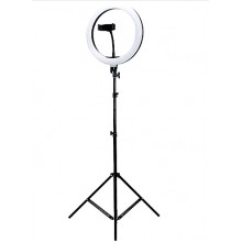 Кольцевая светодиодная лампа 26см с держателем для  телефона + штатив 200см Ring Fill Light