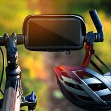 Велосипедный держатель с защитным чехлом для смартфона до 7 дюймов C-001-1