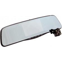 Видеорегистратор-зеркало с камерой заднего вида,сенсорный экран 4.5 дюйма Eplutus D10