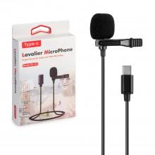 Петличный микрофон Professional Lavalier Microphone GL-121 Type-C