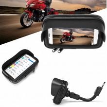 Держатель телефона для мотоцикла с защитным чехлом для смартфона до 7 дюймов М-001-1