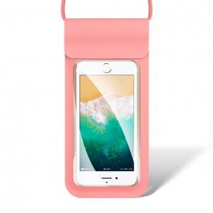 Водонепроницаемый чехол для телефона Rock 4.8-6 дюймов RPH0868  Розовый