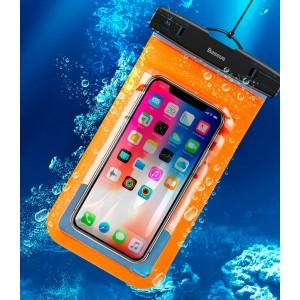 Водонепроницаемый чехол для телефона Baseus ACFSD-A07 orange