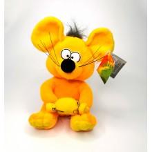 "Мягкая игрушка ""Мышь"" A-64-3  Оранжевая"