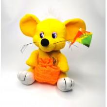 """Мягкая игрушка """"Мышь"""" A-65-2  Желтая"""
