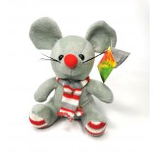 """Мягкая игрушка """"Мышь"""" A-66-1  Серая"""
