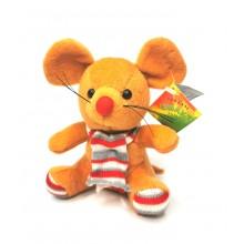 """Мягкая игрушка """"Мышь"""" A-66-2  Коричневая"""
