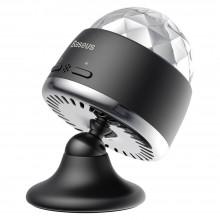 Светильник диско-шар в автомобиль Baseus Car Crystal Magic Ball Light Black