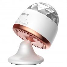 Светильник диско-шар в автомобиль  Baseus Car Crystal Magic Ball Light White