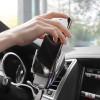Автодержатель сенсорный с беспроводной зарядкой для смартфона Hoco CA34