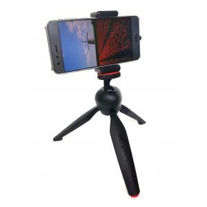 Штатив с держателем для телефона и фотокамеры  Candc DC-338  Черный