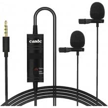 Петличный микрофон Candc DC-C2 Чёрный