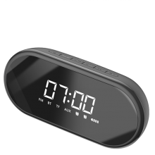 Колонка с будильником Baseus  E09 black
