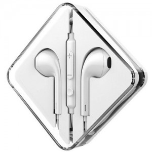Проводные наушники с микрофоном HOCO M55 White