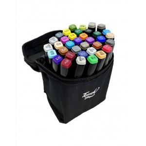 Набор маркеров для скетчинга двухсторонние 36шт