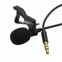Петличный микрофон  Professional  Lavalier  Mic  Jack 3.5mm, черный