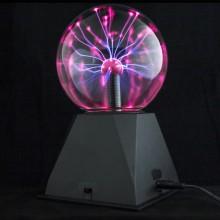 Плазменный  электрический шар- светильник 10см