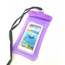 Водонепроницаемый чехол для телефона RNL-4 фиолетовый