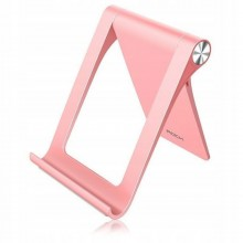 Подставка для телефона и планшета настольная Rock RPH0848 pink