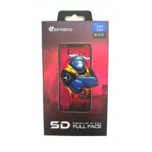 Защитное стекло 5D для Sumsung S10e с черной рамкой Zifriend