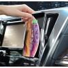 Автодержатель сенсорный с беспроводной зарядкой для смартфона  Hoco S14