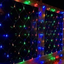 Гирлянда-сетка 3х2 м, разноцветная