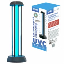 Бактерицидная ультрафиолетовая лампа UNIEL  UGL-T01A  черная