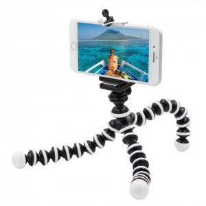 Гибкий штатив с держателем для телефона и камеры Z-02L