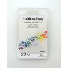 Флешка USB OltraMax 32Gb OM-32GB-50-White