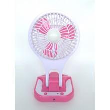 Вентилятор настольный портативный с подсветкой  5588-2