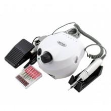 Аппарат (машинка) для маникюра DM-202 с педалью (25000 об/мин) белый