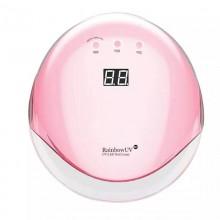 Лампа для ногтей (для маникюра) светодиодная UV/LED RainBow  5H  60W  розовая