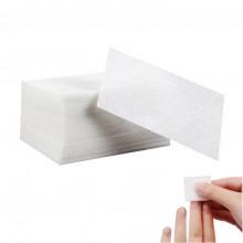 Безворсовые салфетки для маникюра, 1000шт  белые