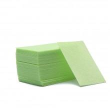 Безворсовые салфетки для маникюра, 1000шт салатовые