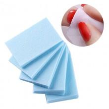 Безворсовые салфетки для маникюра, 1000шт  голубые