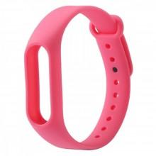Ремешок для фитнес браслета Xiaomi Mi Band 2  Розовый