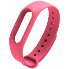 Ремешок для фитнес браслета Xiaomi Mi Band 2  Темно-Розовый