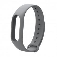 Ремешок для фитнес браслета Xiaomi Mi Band 2  Серый