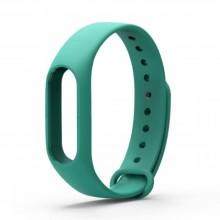 Ремешок для фитнес браслета Xiaomi Mi Band 2  Бирюзовый
