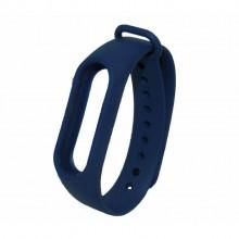 Ремешок для фитнес браслета Xiaomi Mi Band 2  Темно-Синий