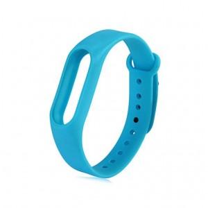 Ремешок для фитнес браслета Xiaomi Mi Band 2  Голубой
