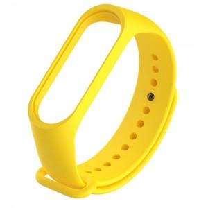 Ремешок для фитнес браслета Xiaomi 3/4  Желтый