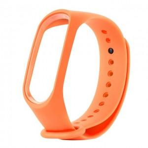 Ремешок для фитнес браслета Xiaomi 3/4  Оранжевый
