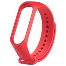 Ремешок для фитнес браслета Xiaomi 3/4  Красный