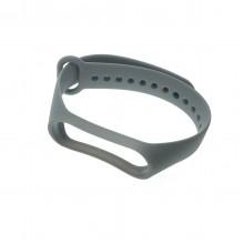 Ремешок для фитнес браслета Xiaomi 3/4  Серый
