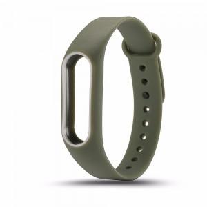 Ремешок для фитнес браслета Xiaomi 3/4  Оливковый