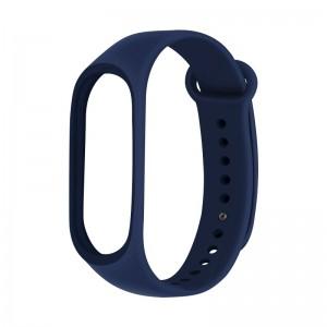 Ремешок для фитнес браслета Xiaomi 3/4  Темно-Синий
