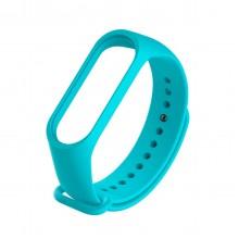 Ремешок для фитнес браслета Xiaomi 3/4  Голубой